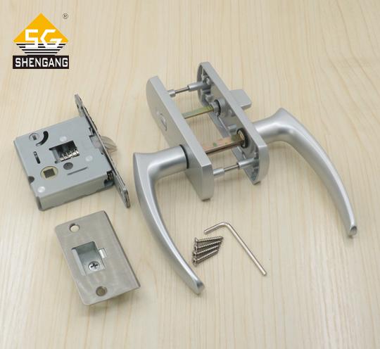 SG-LRS01L03日本门锁环保静音室内卧室房门锁卫生间锁具木门锁