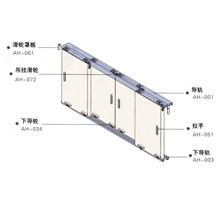 40公斤日本大建款式万科地产精装房静音经济移门五金SG-SD004