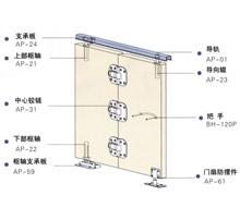 日门款厨房衣帽间衣柜轻质木门折叠门五金SG-FD001