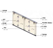 日本静音轻质木质门折叠门五金神冈五金SG-FD008