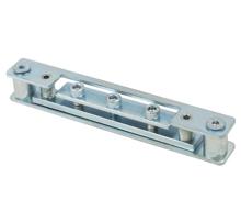 高档高隔重型铝框门铝木门铸铝门304不锈钢可调整铰链合页固定盒