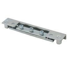德式重型可调节铝合金型材门配合件适用于防火门合页铰链配合件