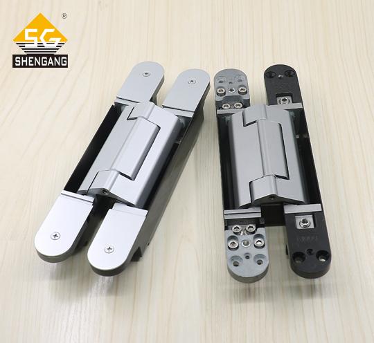 SG-HC50200酒店别墅重型木门三维可调隐藏式静音合页铰链