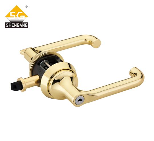 SG-L-KZ002门锁快装锁一体锁实木门卧室门 通道门教室门专用锁