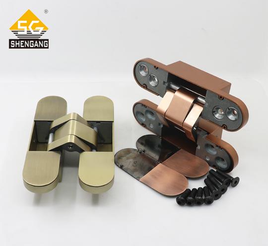 SG-HC60120装甲门防盗门二维可调隐藏式合页铰链隐藏铰链