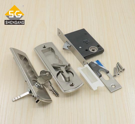 SG-MOKLK-01简约风格木门移门拉门锁勾锁锌合金锁具